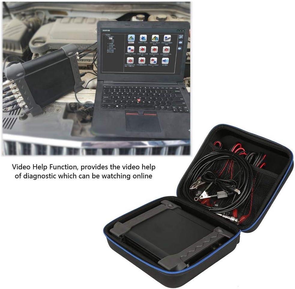 g/én/érateur de signal avec sac de rangement portable Hantek 1008C 8 canaux de diagnostic automobile virtuel avec interface USB 2.0 Oscilloscope DAQ Walfront Oscilloscope USB