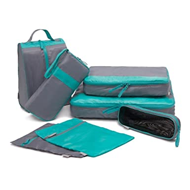 fa8816a9ca00 Amazon.com   American Trends 7-Piece Durable Travel Packing Cubes ...