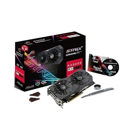 ASUS ROG Strix Radeon RX 570 O4G Gaming Edition Edición ...