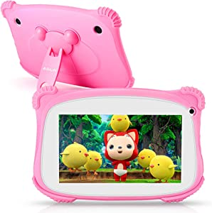Kids Tablet, ASIUR QuadCore 2GB RAM 16GB ROM Android 9 Kids Educational Tablets Learning Tablets for Toddlers with Parental Control & 7