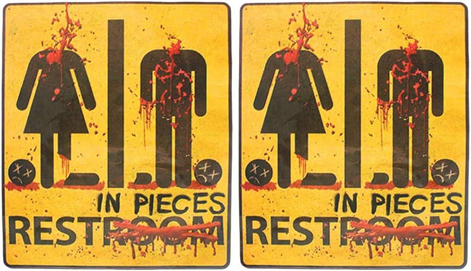 Halloween Wall Sticker Horrible Bloody Window Sticker Door Stic Y1P3
