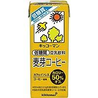 キッコーマン飲料 低糖質豆乳飲料麦芽コーヒー 200ml ×18本
