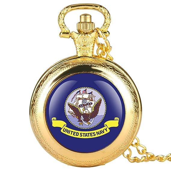 Reloj de Bolsillo Dorado para Hombre, diseño de águila Morada, Reloj de Bolsillo para niño, Reloj de Bolsillo Digital árabe para Adolescentes: Amazon.es: ...