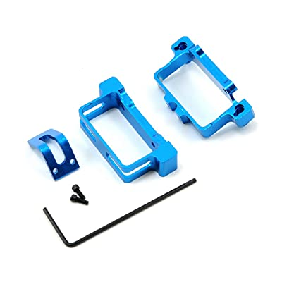 Microheli CNC Aluminum Battery Tray, Blue: BCX/CX2: Toys & Games