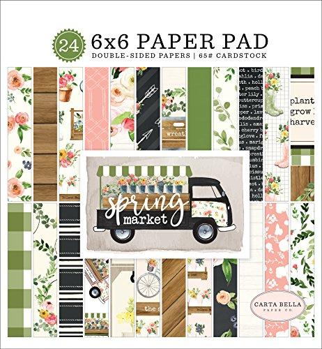 Carta Bella Paper Company Spring Market 6x6 Paper -