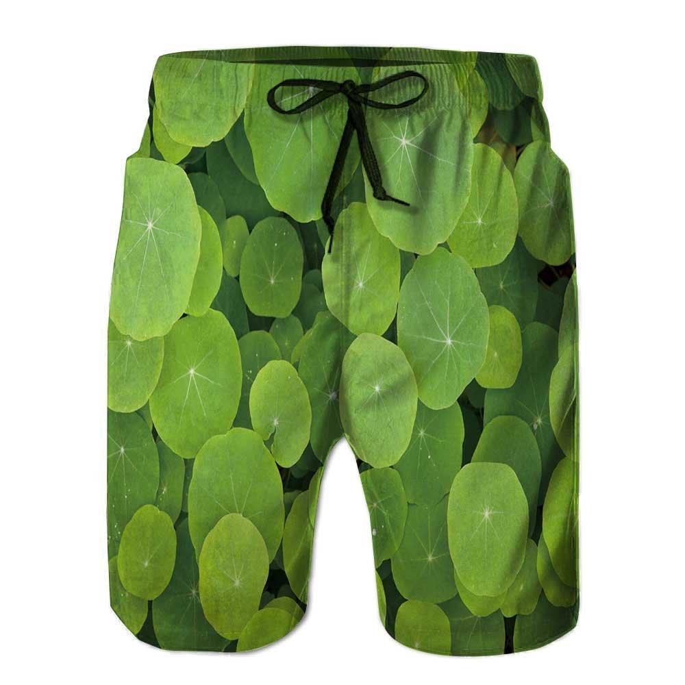 Mens Swim Trunks,Seamless Pattern Based on traditi Quick Dry Board Shorts