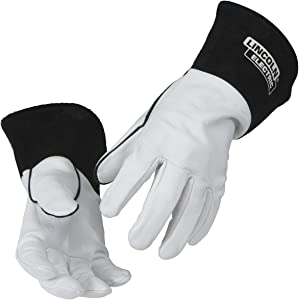 Lincoln Electric Grain Leather TIG Welding Gloves | High Dexterity |Large | K2981-L