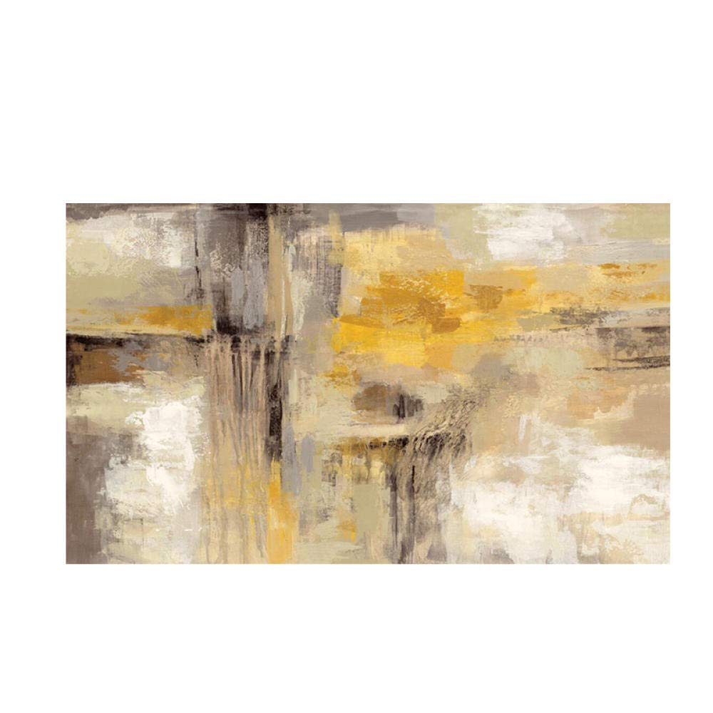 WADPJ Large Size Gold Abstract Canvas painting Poster Prints Wall ...