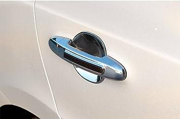 Zubeh/ör f/ür Audi Q5 2008-2011 Chrom Nebelleuchten Blenden Nebelscheinwerfer Abdeckung