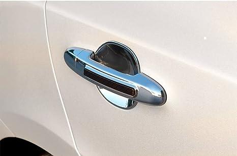 Accesorios para Hyundai ix35 cromo huecos türgri ffmulden paneles Tuning Door Catch Chrome Under Molding