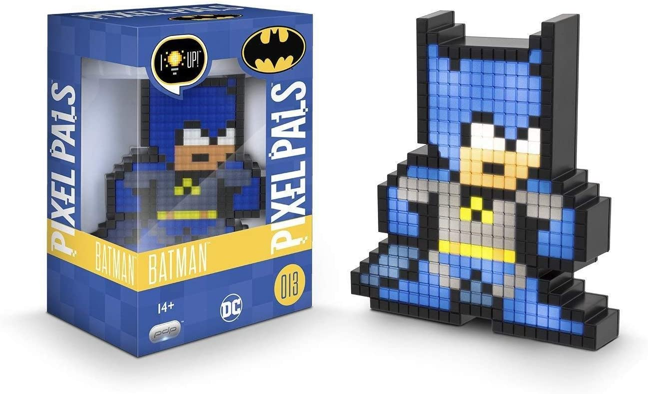 Amazoncom Pdp Pixel Pals Dc Comics Batman Collectible