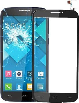 CellphoneParts BZN de Panel táctil for Alcatel One Touch Pop C7 / 7040/7041 (Negro) (Blanco) (Color : Black): Amazon.es: Electrónica