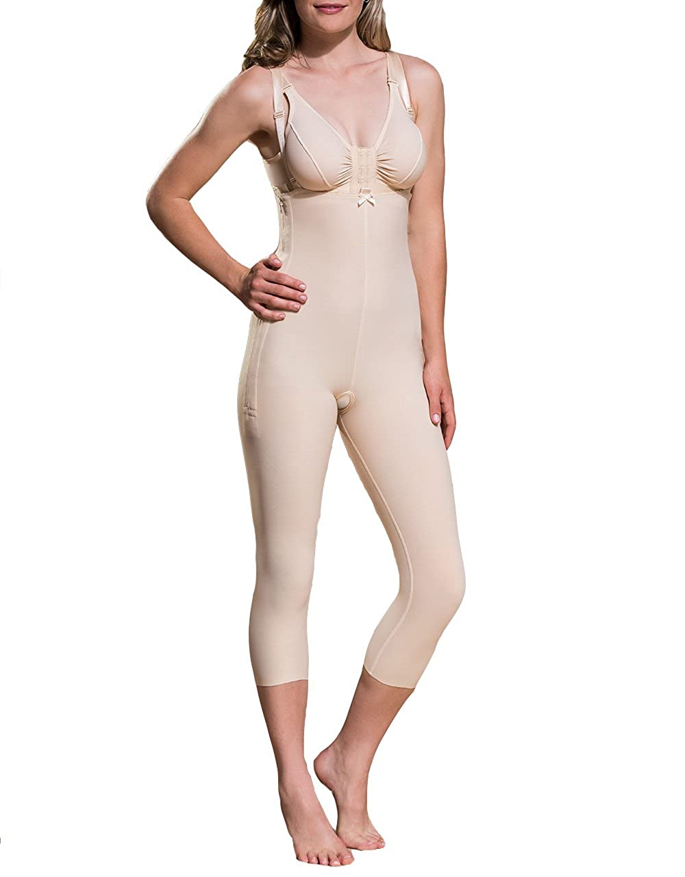 ee0ee99a6e ComfortWear Marena Support Girdle with Suspenders and Medium Legs at Amazon  Women s Clothing store