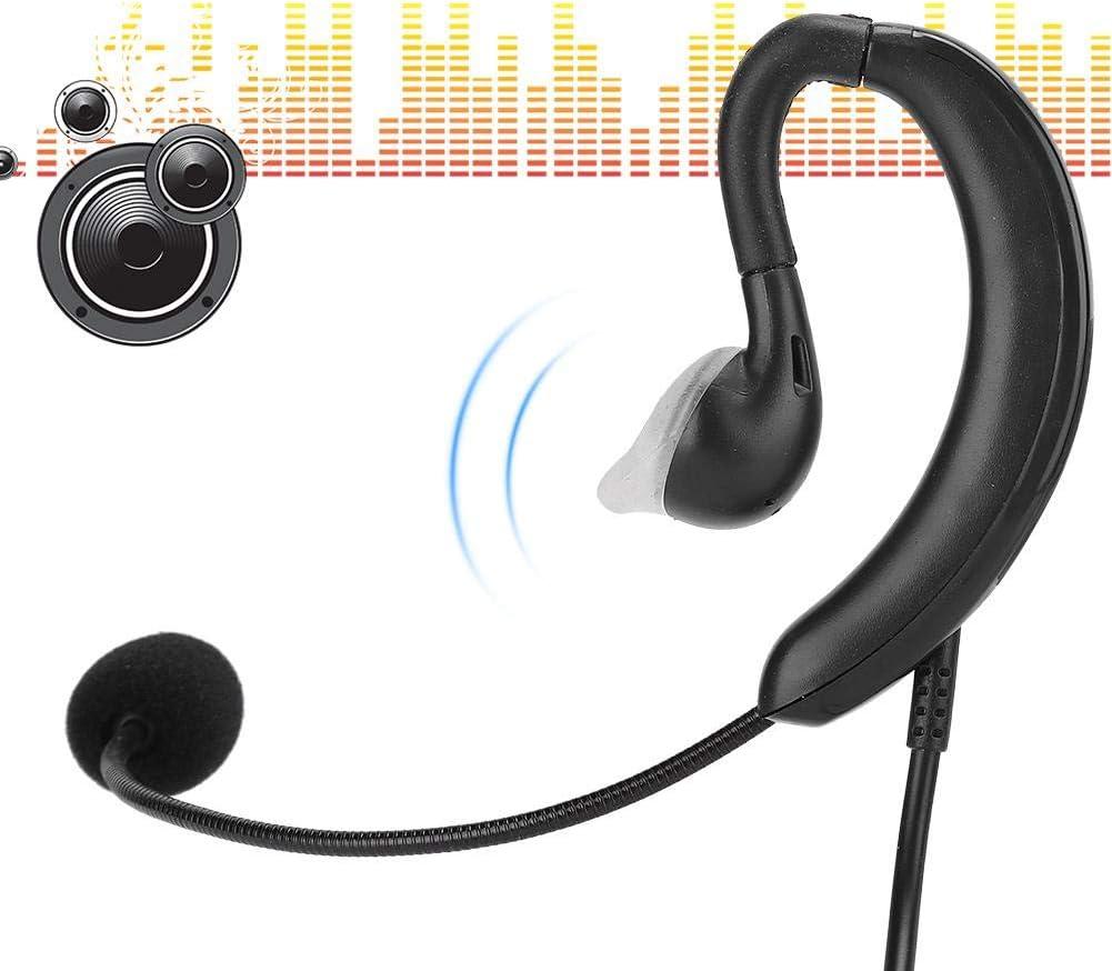 Tangxi Computer PC Earhook Microfono Notebook USB One-Key Mute Gaming E-Sports Gioco Earhook Headhpone con Microfono per Skype//QQ//MSN//Navigazione Web