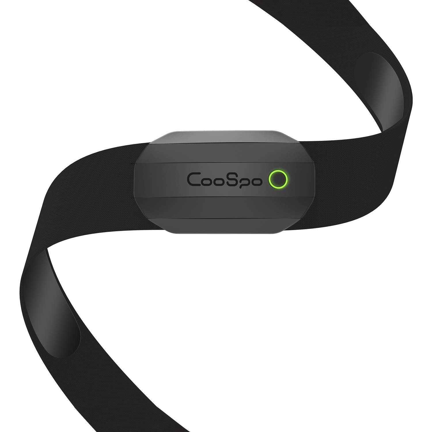 CooSpo Fitness Tracker Ant+ Heart Rate Monitor Chest Strap IP67 Waterproof with Bluetooth for Wahoo Strava Zwift DDP Yoga Map My Ride Peloton Bike by CooSpo