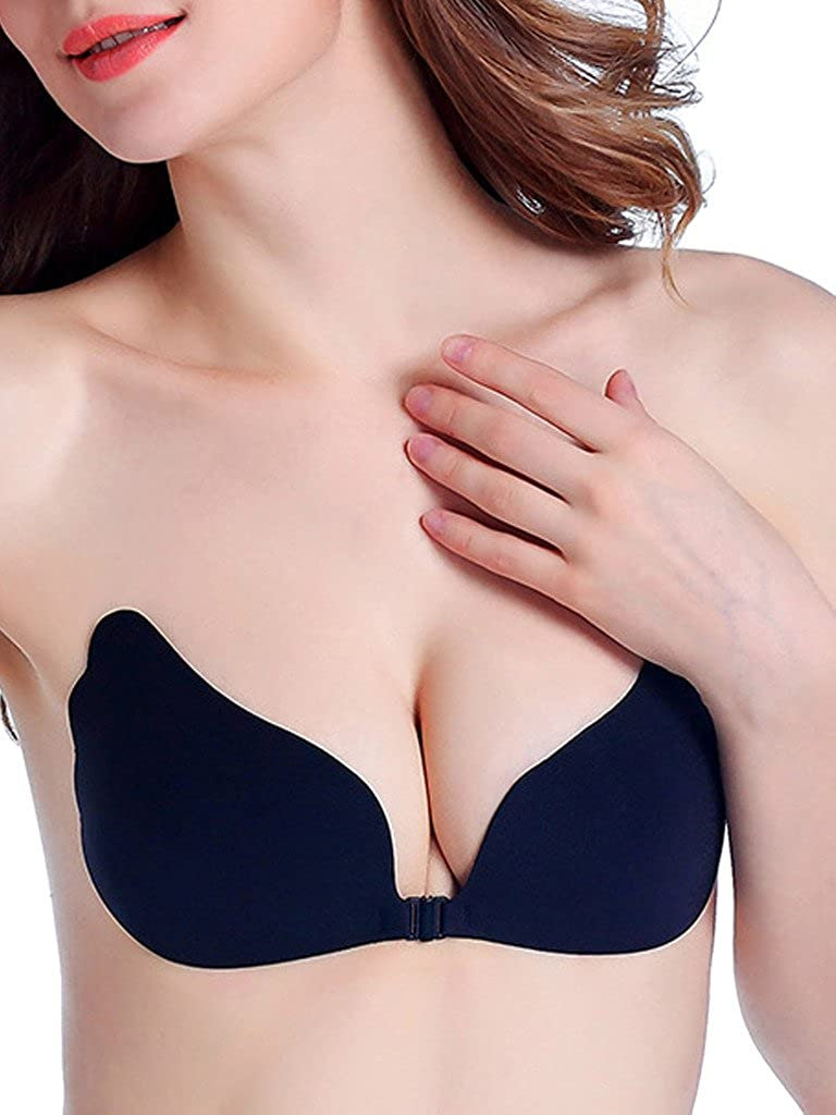 a08c38d2a2 LANFEI Adhesive Bra Strapless Push Up Bra Invisible Brassiere Wedding  Lingerie CAST10732