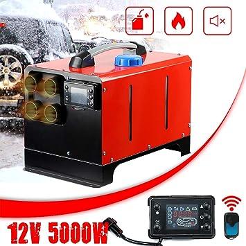 per Interni Riscaldatore dAria Diesel Triclicks Rosso 03 Monitor LCD di visualizzazione a 4 Fori per Il Riscaldamento di Auto di casa di Magazzino 5000 W 12 V