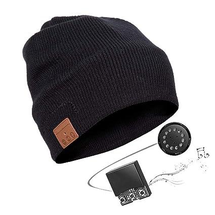 Zibaar Bluetooth Beanie Bluetooth Hat Bluetooth Beanie Hat Headphone Benaie  Combined with Bluetooth V4.1 af3b5a77c6bb