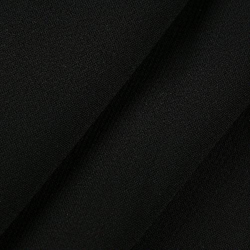 Femme Prom Dress Col de Robe Noir de Robe Longue Robe V Tunique Robe Chic Plage LEvifun Mariage Chemise Soire Party de Robe t Sundress Cocktail 1P44qT