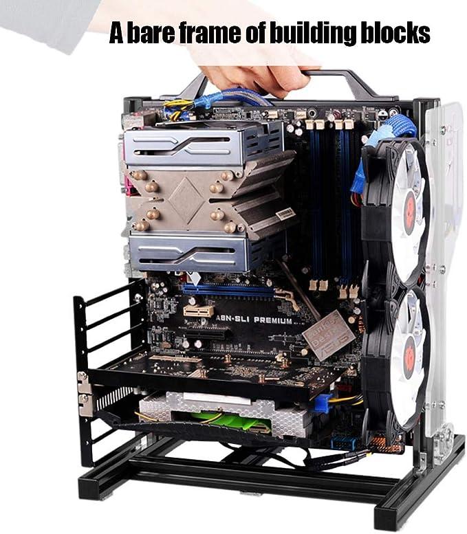 Amazon.com: M-ATX ATX ITX conjunto de chasis para placa base ...
