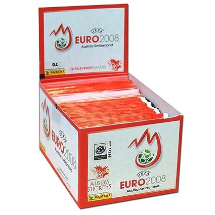 Amazon.com: 2008 Panini Uefa Euro 2008 Soccer Pegatina caja ...