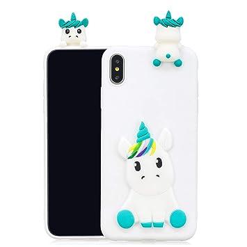 coque iphone xs max silicone blanche