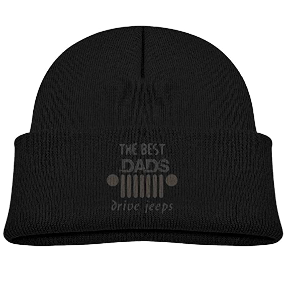 afb4bfc6eac The Best Dads Drive Jeeps Wool Beanie Hat Fashion Unisex 0-3 Old at Amazon  Men s Clothing store