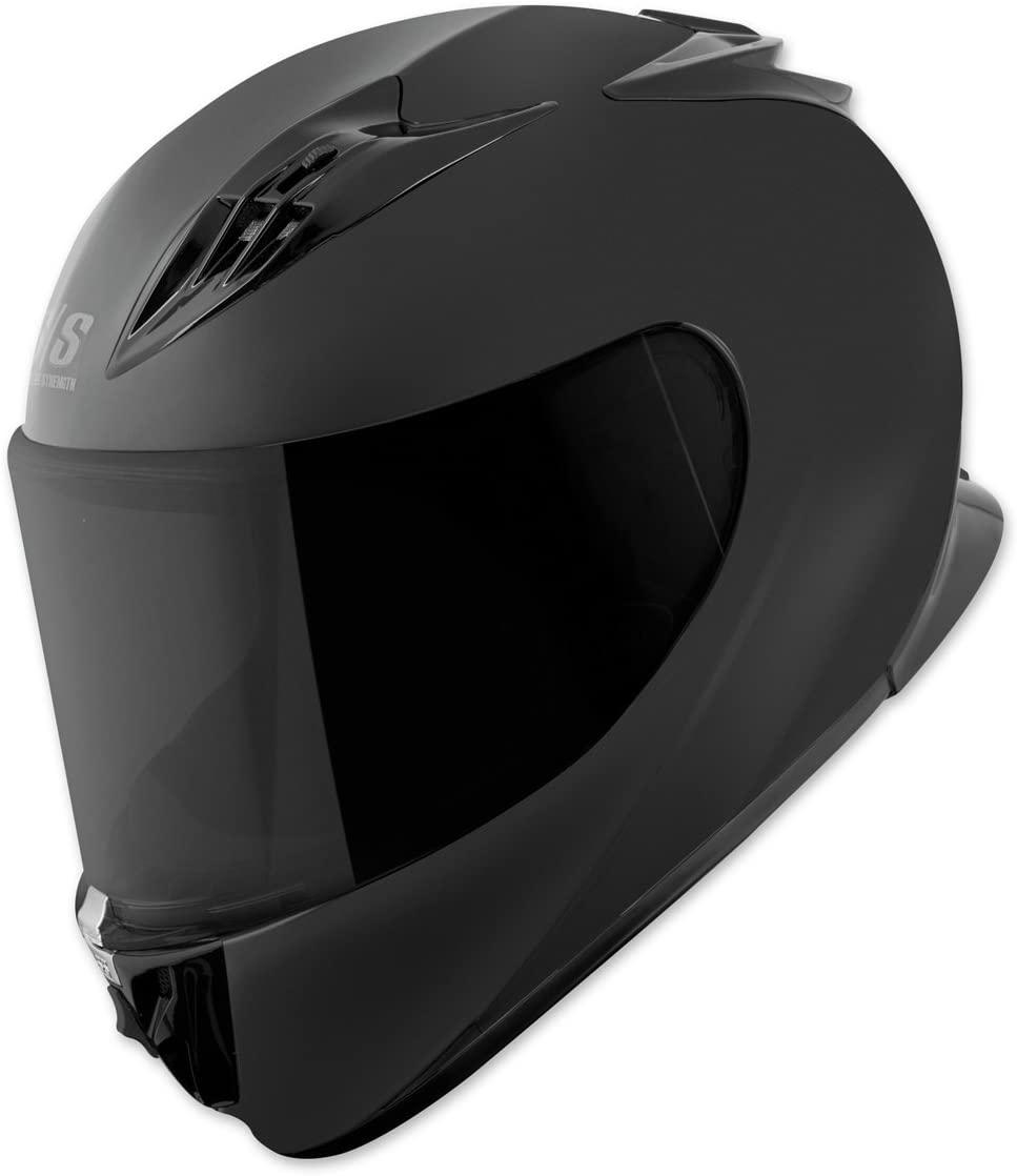 Solid Speed GLOSS BLACK LARGE Speed /& Strength SS1710 Helmet