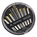 Generic Imported 30Pcs Assorted Hand Sewing Needles Embroidery Mending Craft Quilting-15012655Mg