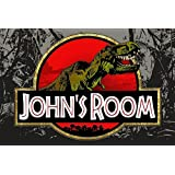 Boys Jurassic Dinosaur Personalized 13x19 POSTER With Your Name!