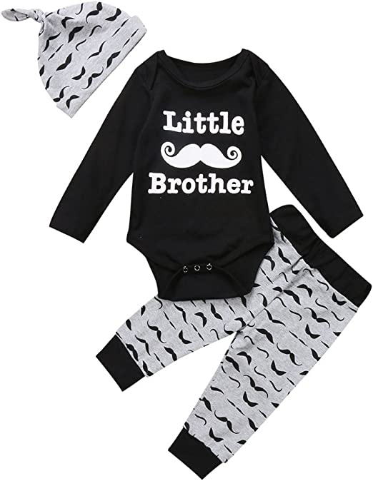 XILALU Toddler Infant Baby Long Sleeve Clothes Set Fashion Hooded Outfits