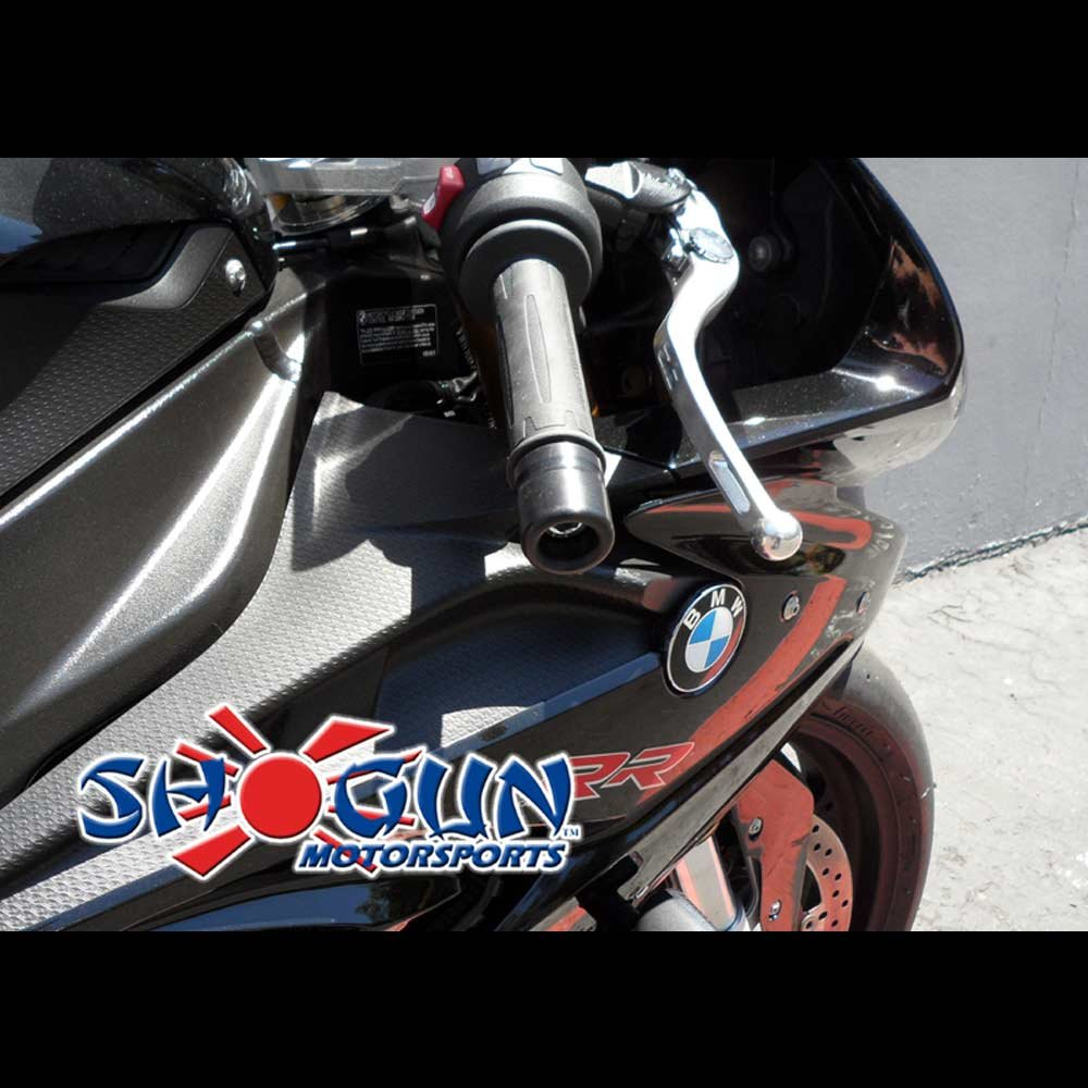 MADE IN THE USA 2015-2017 BMW S1000RR White No Cut Frame Sliders 750-7750