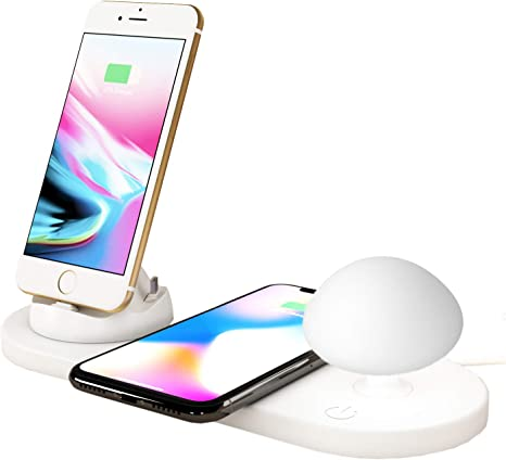 TECH LIVING Charging Station, Wireless Charger: Amazon.co.uk