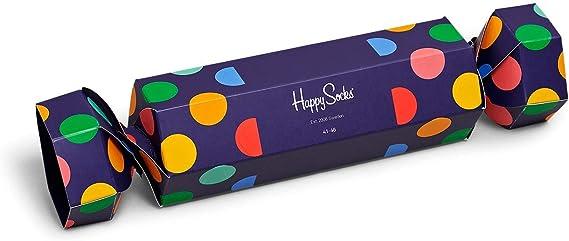 Happy Socks caja de navidad para mujeres - Big Dot - 2 piezas (36 ...