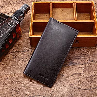 Hot Sale! CieKen Premium Leather Handbag Organizer Card Case Long Bifold Wallet