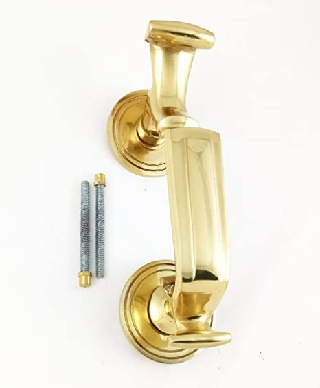 Gold Securit S2252 Vic Centre Door knob 75mm