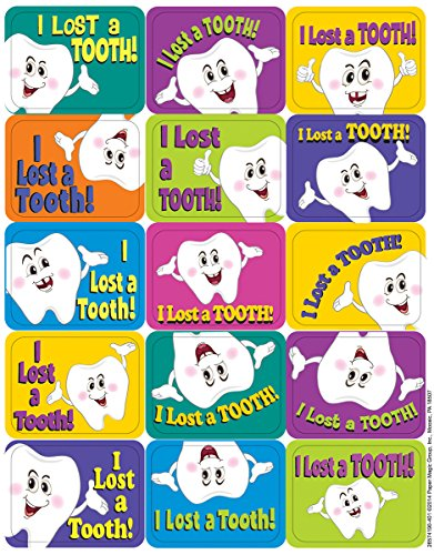 Eureka Lost Tooth Stickers, Success (657419)