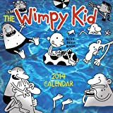 Wimpy Kid 2014 Calendar Illustrated by Jeff Kinney thumbnail