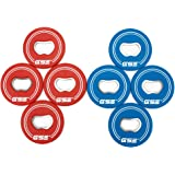 GSE Games & Sports Expert Set of 8 Replacement Washers with Bottle Opener for Washer Toss Pitching Lawn Game