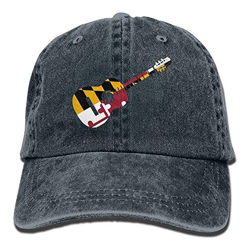 AJG25_ids Baseball Cap for Men & Women, Maryland Flag