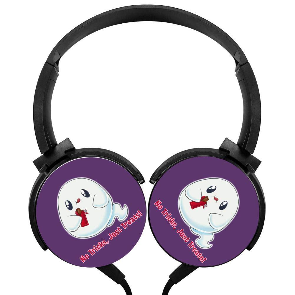 【おトク】 Lovely プリント Ghost ヘッドフォン ヘッドフォン 3D プリント ヘッドフォン オーバーイヤー 軽量 ヘッドフォン キッズ メンズ レディース B07H7DXHZC, カヌマシ:13d15443 --- nicolasalvioli.com