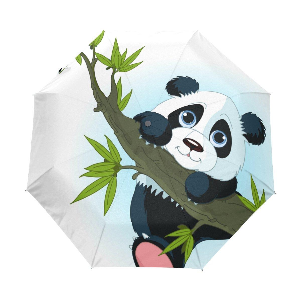 COOSUN Panda gigante Árbol que sube automático 3 plegable del paraguas del parasol Color # 001: Amazon.es: Equipaje