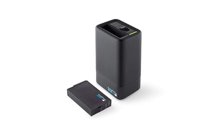 GoPro ASDBC-001-EU - Cargador Dual y batería para Fusion, Color Negro