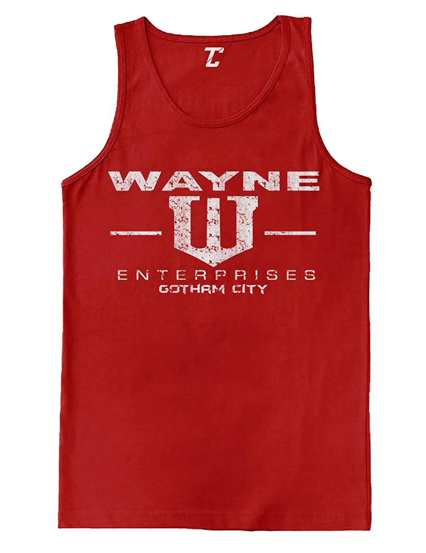 85bb25f2d56699 Amazon.com  Wayne Enterprises - Superhero Comic Men s Tank Top  Clothing