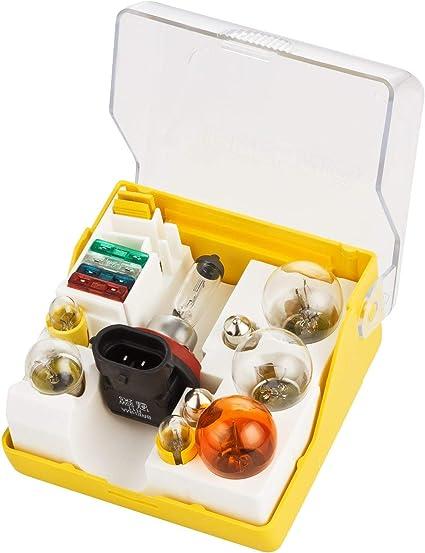 14tlg. brehma H11 12 V 55 W – Caja de bombillas de recambio para bombillas de repuesto Caja bombillas de repuesto Set: Amazon.es: Coche y moto