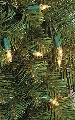 SilksAreForever 60'' Artificial Limber Pine LED-Lighted Hanging Wreath -Green