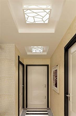 ANGEELEE Minimalista moderno balcones lámpara de techo las ...