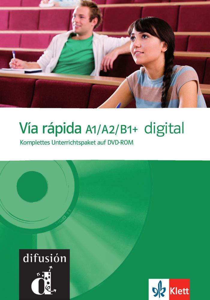 Vía Rápida A1 B1+ Digital  Competencias Y Estrategias   Con Dinámica. DVD ROM