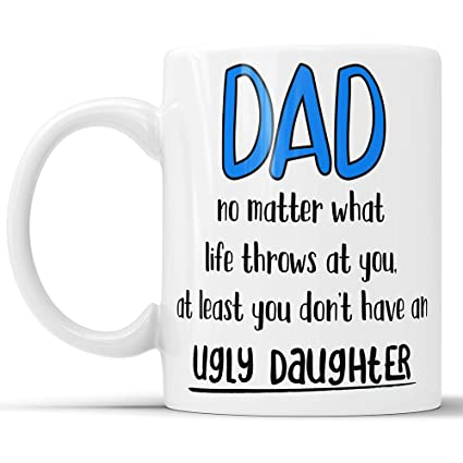 Father Daughter Mug Gifts For Dad From Fathers Day Coffee