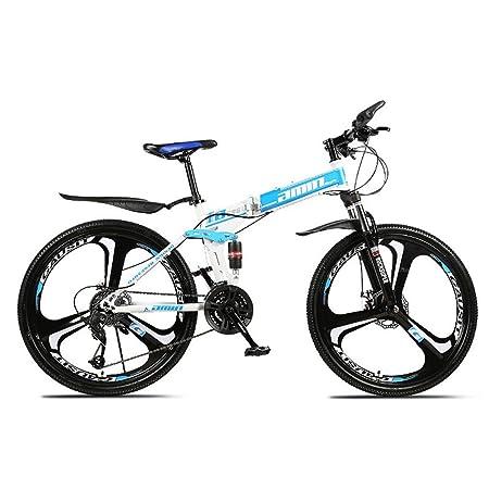 OVO Plegable Bicicleta de montaña, de 26 Pulgadas de Velocidad ...